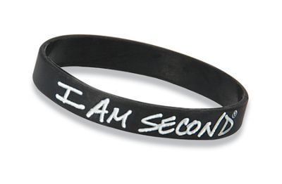 I Am Second Bracelet  #WorshipWear #RubberBand