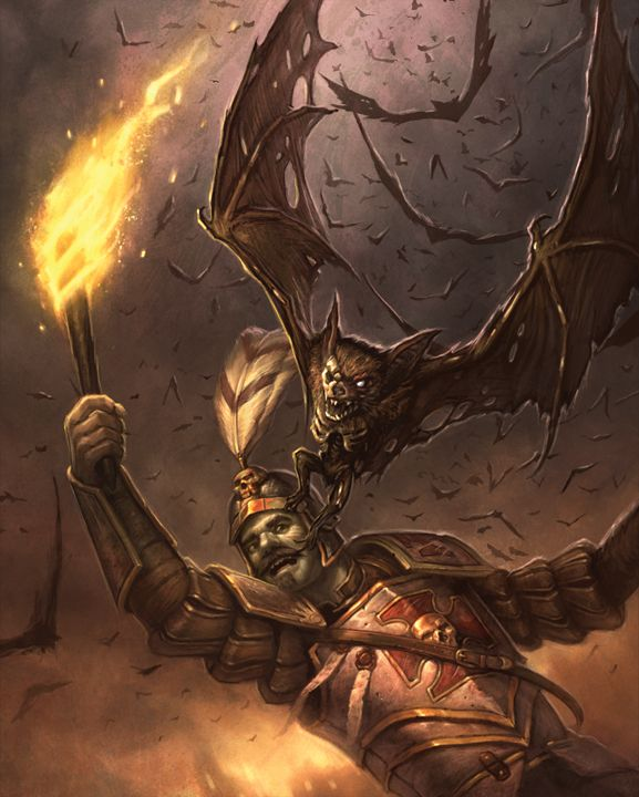 Rise To Power Monstrosity: Undead Bat Swarm By Faxtar On DeviantArt