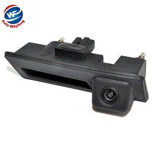 Auto Wayfeng® HD Car Runk Poignée Parking Rearview Case Caméra de recul pour Audi / VW Volkswagen / Passat / Tiguan / Golf / Touran / Jetta…