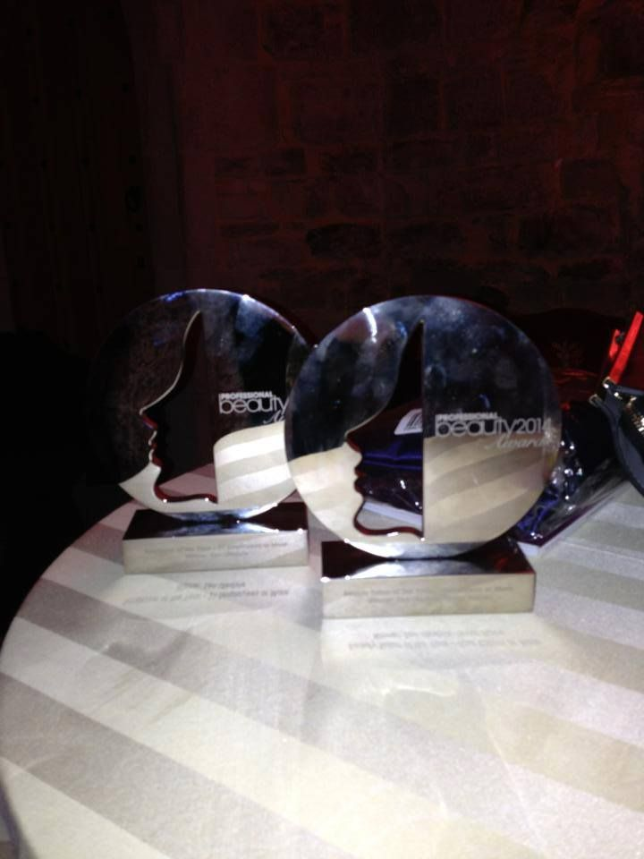 Brought home not one but two awards this weekend at the Professional Beauty awards 2014. #zenlifestyle @Professional Beauty
