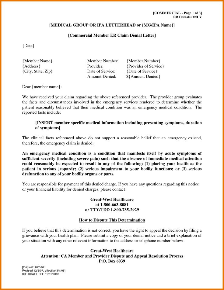 Sale Ppi Claim Appeal Letter Bill Format Prize Sample Template