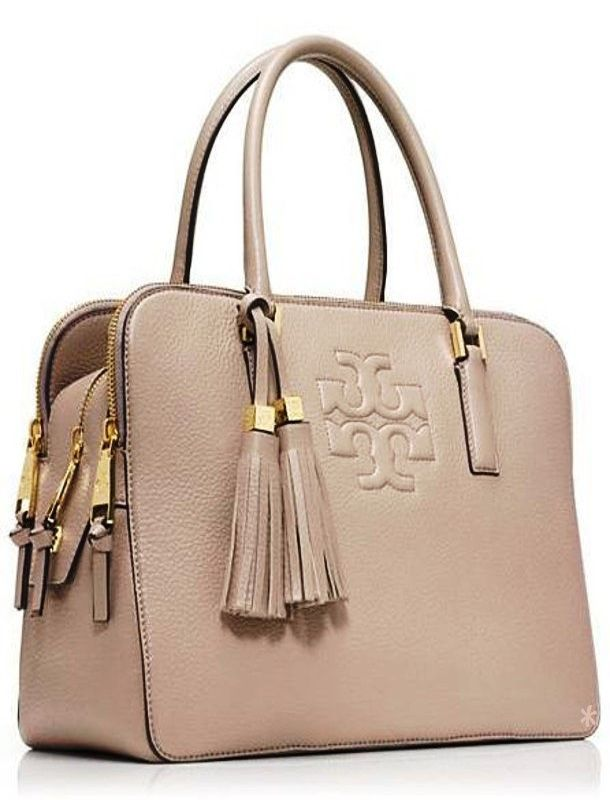 Emmy DE * Tory Burch Thea Triple-zip Compartment Satchel