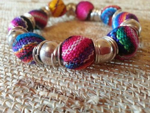 Peruvian Ethnic Lliclla Bracelet | eBay