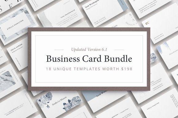 Business Card Bundle Business Cards Creative Elegant Business Cards Business Card Inspiration