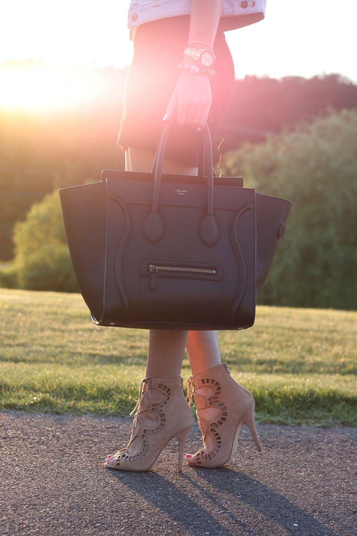 Celine Luggage Tote