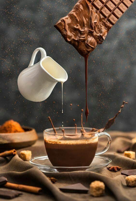 Крепкая картинки, открытка доброе утро кофе и шоколад