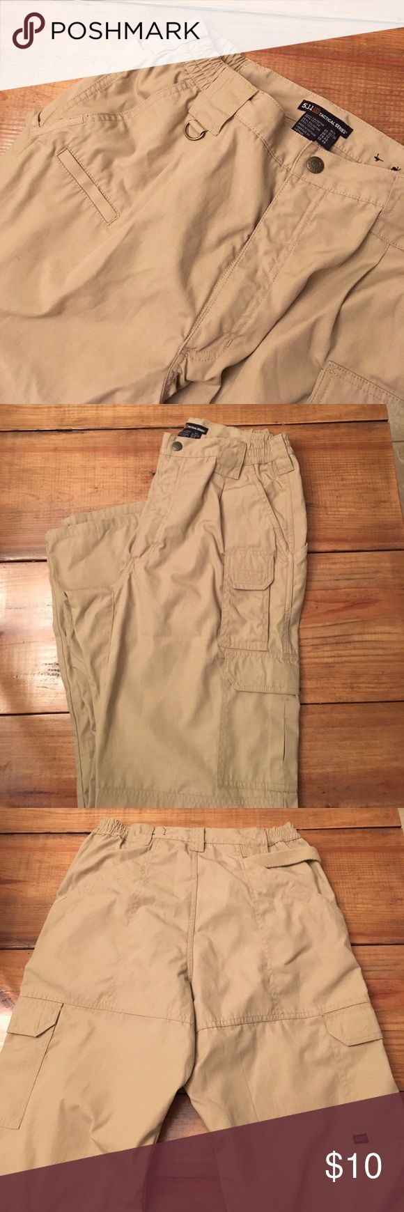 511 tactical pants Worn once 511 tactical pants light tan in color. Size 32w 34L Pants Cargo