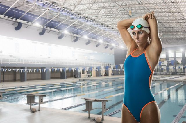 This is an 8-week swim workout training plan to move you toward improved swimming fitness.