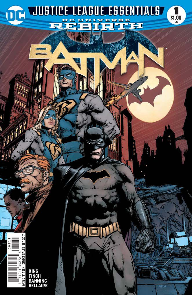 DC Justice League Essentials: Batman Rebirth #1 - I Am Gotham, Part One