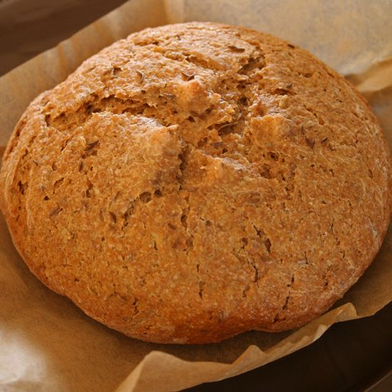 Made in a slow cooker, this rye bread recipe couldn't be easier.data-pin-do=