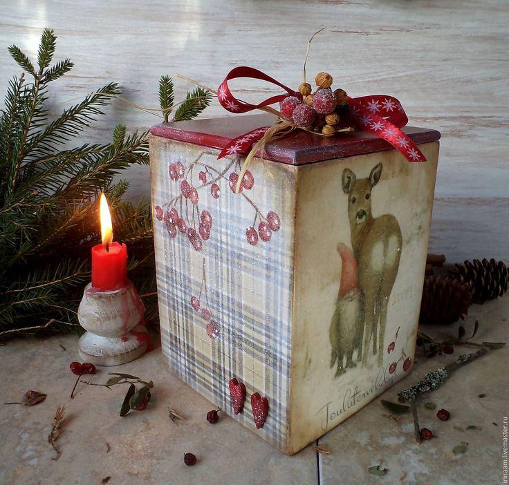 """Купить """"Ниссе. Портрет с другом"""" новогодний короб - новый год 2015, рождество 2016, рождественский подарок"""