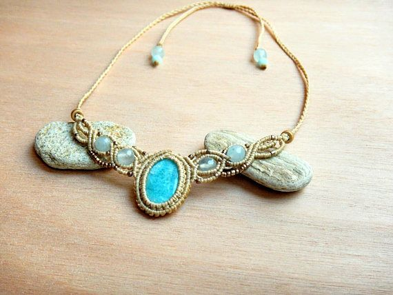 Hey, I found this really awesome Etsy listing at https://www.etsy.com/listing/524523982/amazonite-amazing-necklace-amazonite