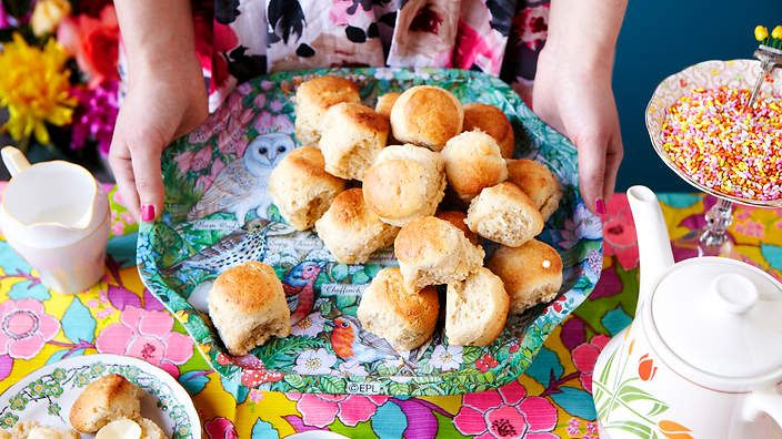 Jazz up your high tea offering with a pot of chai and these similarly tea-infused scones.