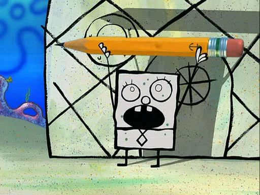 """Which SpongeBob Character Are You? """" You got: DoodleBob  You're terrifying! Here, let me put this in a language you might understand: BEE HA, BALA HALA BA BA! EEMO WABAWABA! MEYOHIMEYOI! MEYOHIMEYOI! MEYOHIMEYOI! YOU DOODLE. ME SPONGEBOB. Hope that cleared a few things up. """""""