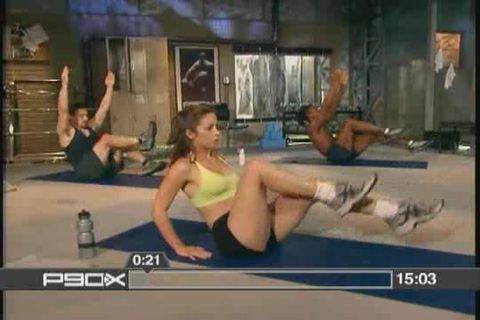 Ab ripper X 16 minutes that will tear your core apart. You'll hate it, but you'll love it