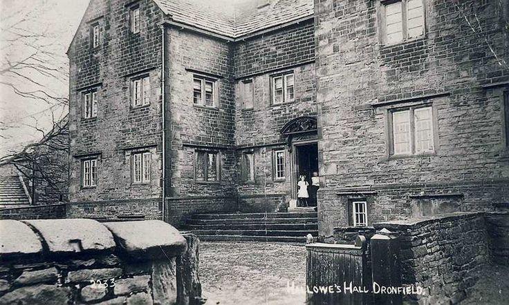 Derbyshire, Dronfield, Hallowes Hall 1910's