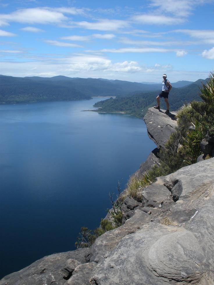# 92 Panekire Bluff, Lake Waikaremoana Great Walk, New Zealand