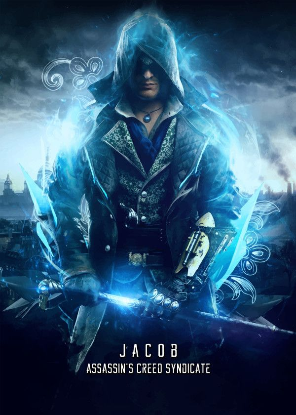Assassin S Creed Characters Jacob Frye Displate Artwork By Artist