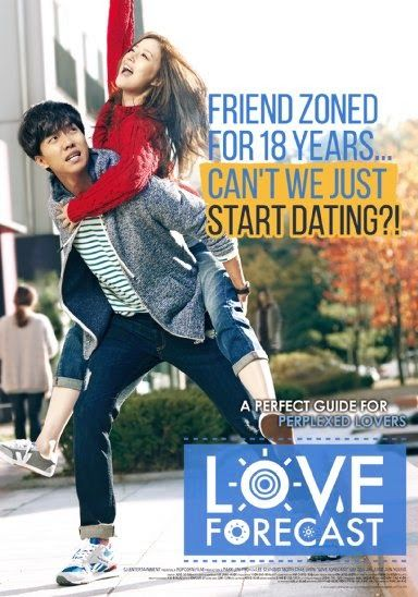 LOVE FORECAST 2015 Korean Romance cast: Lee seung Gi, Moon Chae Won, Lee Seo Jin, Hwa Young, Jung Joon Young, Son Ga In.  When Joon-Soo falls in love he tries to give everything to the girl. Even though he does all of that, he is the one that get dumped.Hyun-Woo works as a weathercaster. Unlike her beautiful appearance, she acts excessively and talks in a tough manner. A romance blooms between these two people.