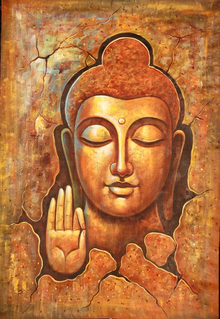 Buy Buddhism Art 3 by Community Artists Group@ Rs. 6990. Code:ACHMER08_2436 - Shop Art Paintings online in India.