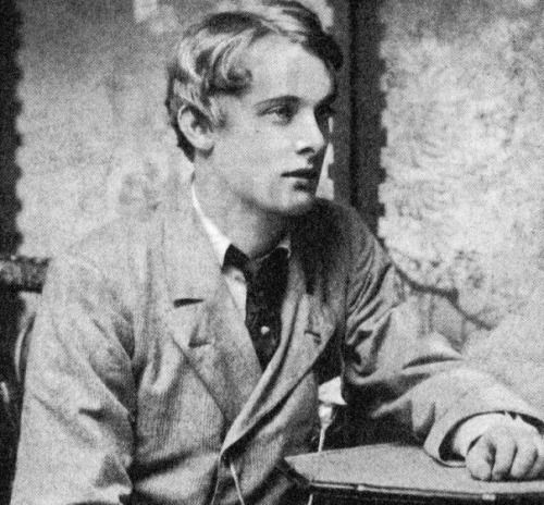 Lord Alfred Douglas, Oscar Wilde's notorious partner In addition to being blamed for Wilde's imprisonment and subsequent death, he was also a pretty decent poet and later became a newspaper editor.