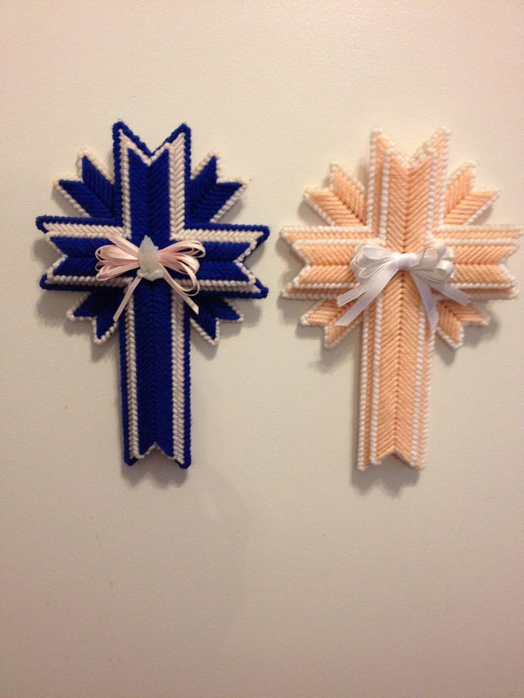 17 best images about plastic canvas patterns on pinterest for Cardboard crosses for crafts