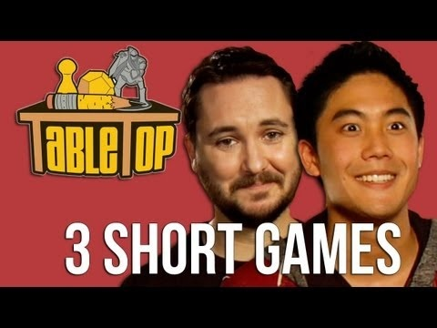 Linking here because the ep features 3 casual games friendly to non-gamers!      Wil Wheaton plays Zombie Dice, Get Bit! & Tsuro with Ryan Higa, Freddie Wong, Rod Roddenberry.