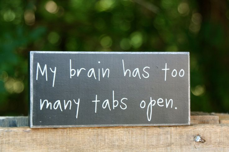 Funny sign that we can all relate with!