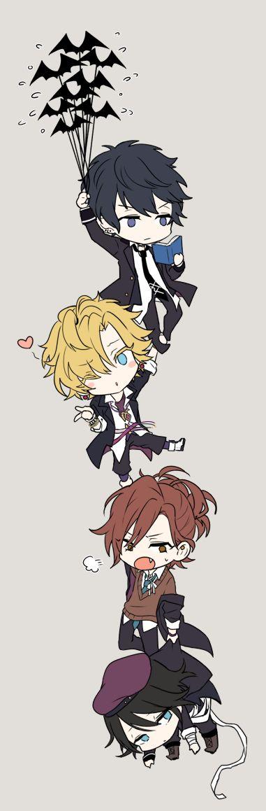 Imagem de yuma mukami, kou mukami, and anime