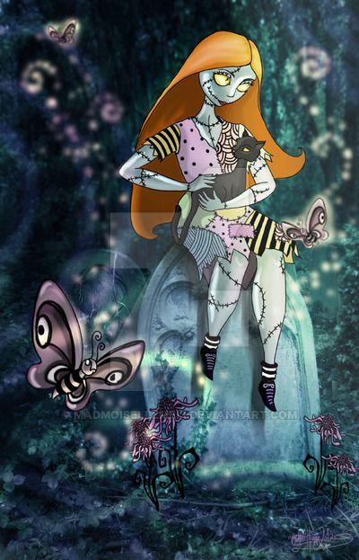 Tim Burtons Sally by MADmoiselleMeli.deviantart.com on @DeviantArt