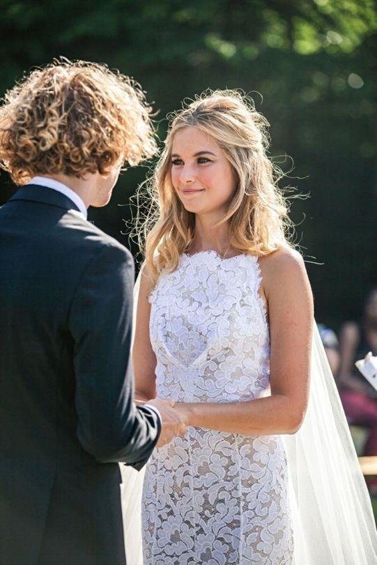 Inside Bridget Malcolm's low-key Pennsylvania wedding - Vogue Australia