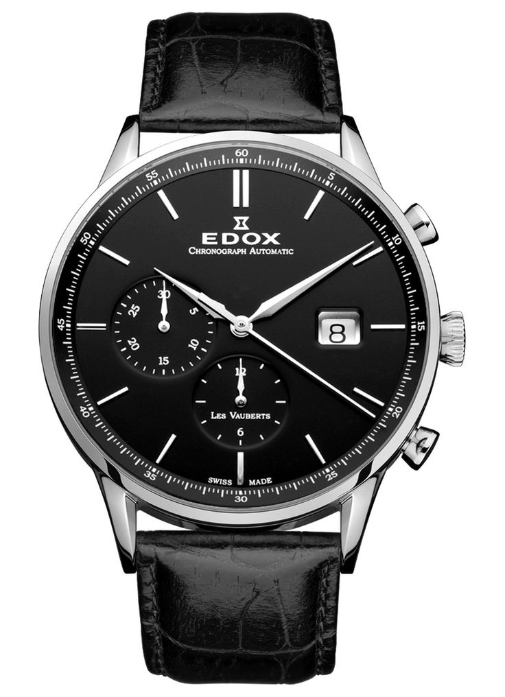 Edox Les Vauberts Chronograph Automatic 91001 3 AR | Les Vauberts | Edox | Uhren | UHRENHANDEL.DE - Luxusuhren zu Traumpreisen
