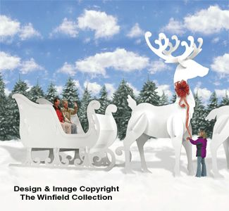 Plywood Reindeer Cutouts - WoodWorking Projects & Plans