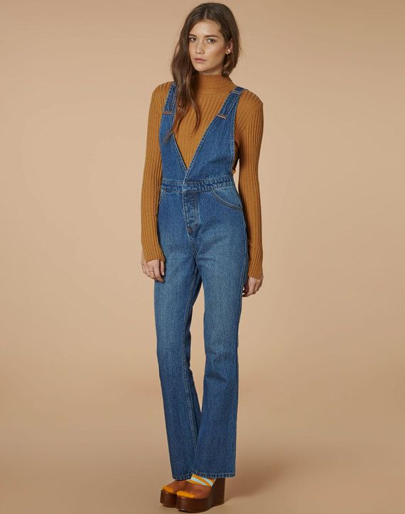 edt. Flared Dungaree