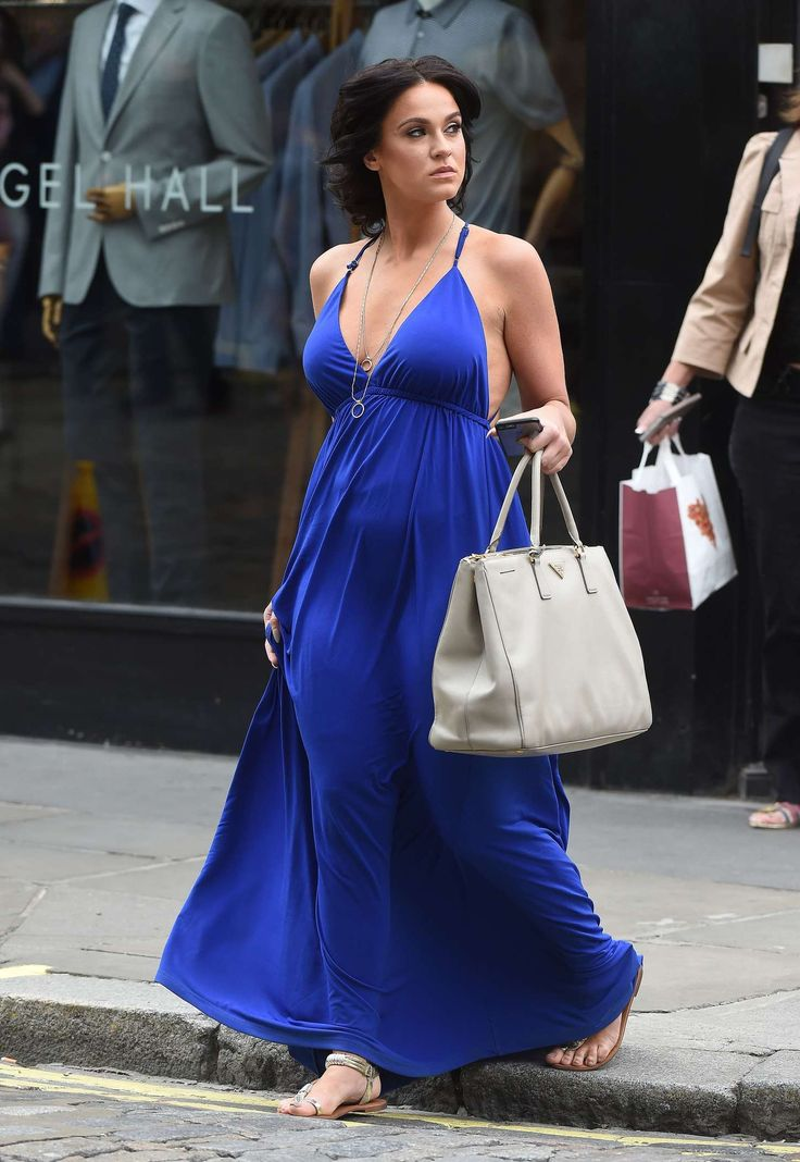 Vicky from geordie shore blue dress