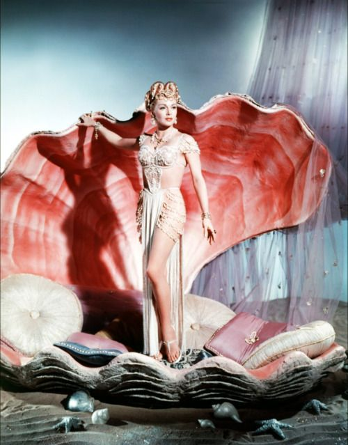 "Lana Turner in ""The Prodigal"" 1955 - as ""venus""?"