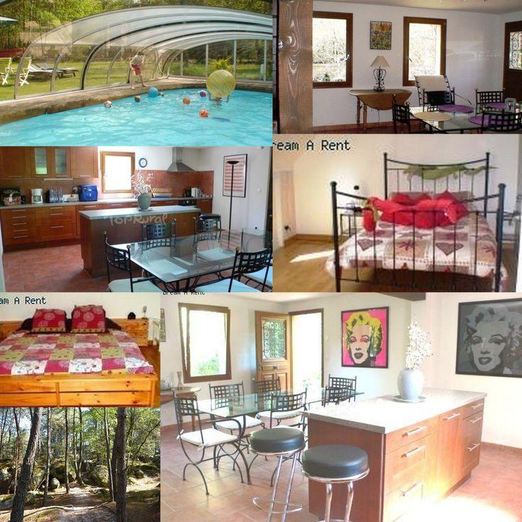 La Maison dans la Forêt de Fontainebleau - n°31 --http://www.dreamarent.com/annonce/la-maison-dans-la-foret-de-fontainebleau/31 – Le gîte, très confortable est situé dans une propriété privée, en pleine forêt, au départ des chemins de randonnée. La décoration est moderne, conviviale. Il offre tout le confort et vous permettre de profiter des loisirs pendant le séjour. La cuisine est grande et aménagée. -- 1 Salon, 1 Salle à manger, 2 Chambres, 1 Salle d'eau et 1 WC. 5 pers, 98 m², 720…