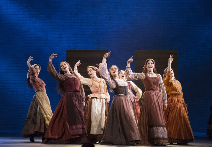 'FIDDLER ON THE ROOF' (left to right) Marla Phelan