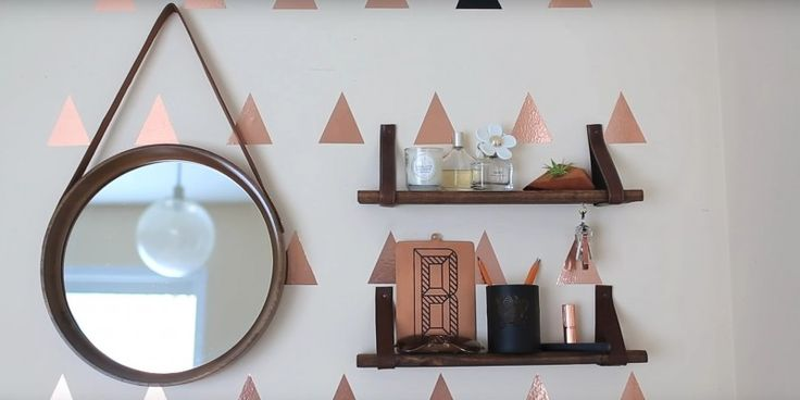 You've got a worn-out old belt lying around or one that doesn't quite fit anymore? Don't throw it away! You can make something fantastic out of it - this super cool shelf, for example. Here's how to do it: No boards = no shelf - that much is clear. They don't need to be perfect:…