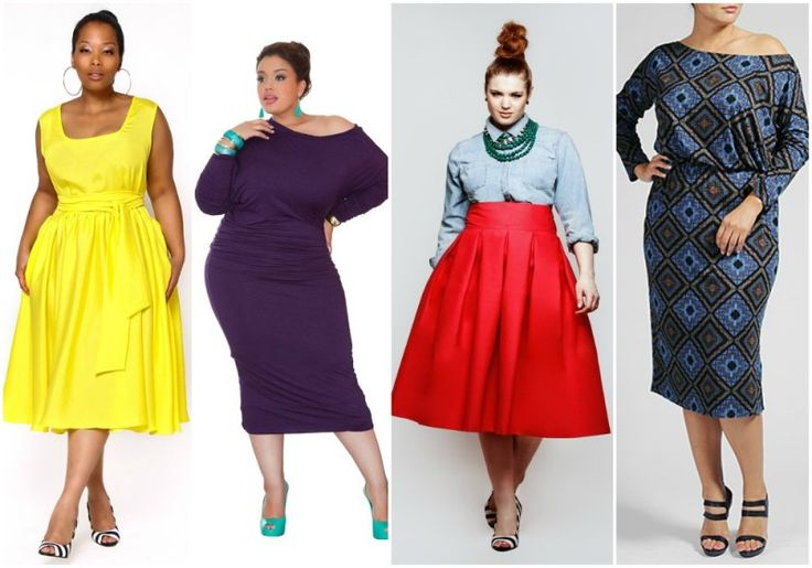 tea length- The 2014 Plus Size Spring Trends Report on The Curvy Fashionista