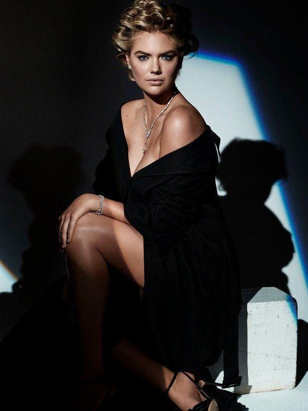 Kate Upton, sesja, Harper's Bazaar, biżuteria