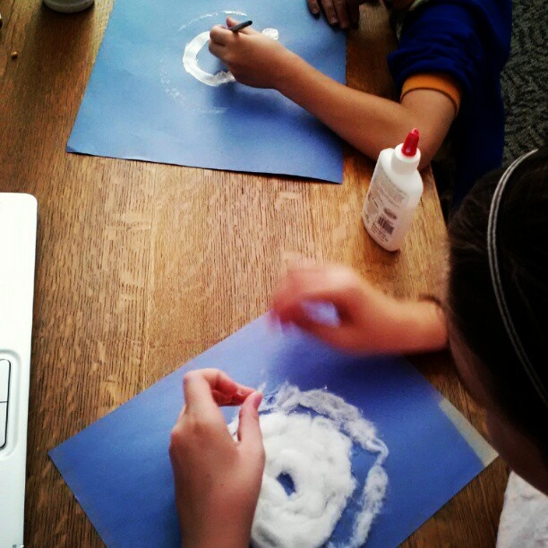 This activity looks perfect for our 2nd grade students. It is a great project to assess the students' idea of what a hurricane looks like from a bird's eye view. The students would have to include the eye of the storm and the surrounding cloud coverage. EK