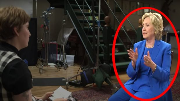 MALE-OBJECTIFYING HYPOCRITE! Leaked Footage Shows Hillary Joking About Famous Singer's P*nis