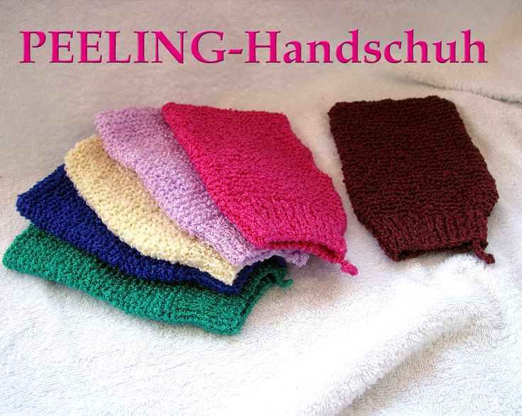 WERBUNG - Peelinghandschuh
