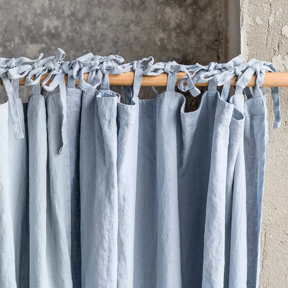 die besten 25 leinen gardinen ideen auf pinterest vorh nge an der wand shabby chic vorh nge. Black Bedroom Furniture Sets. Home Design Ideas