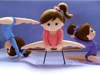 Ginasta em feltro com molde Aprenda como fazer bonecas em feltro com molde passo a passo Molde em feltro Ginasta