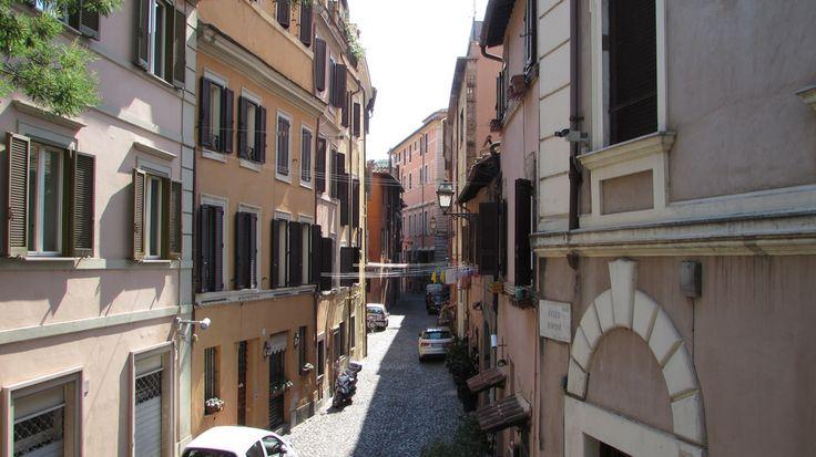 Roma, Trastevere, Vicolo Moroni