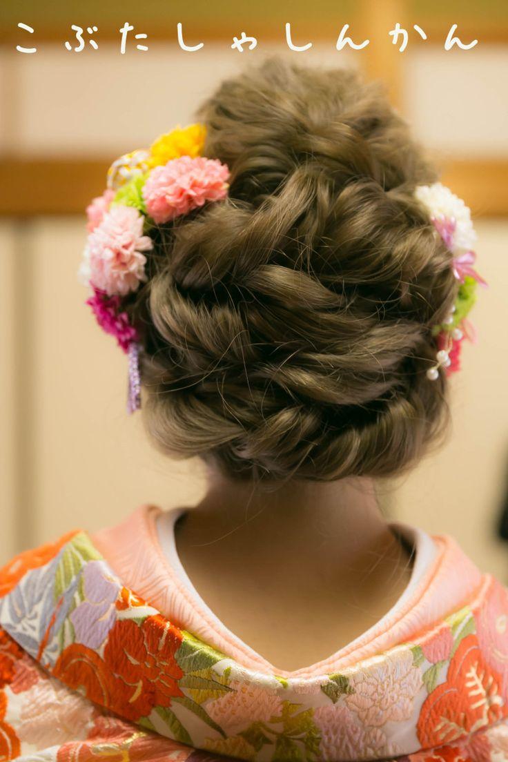 和装髪型☆超ロングヘアの画像 | こぶたしゃしんかん☆