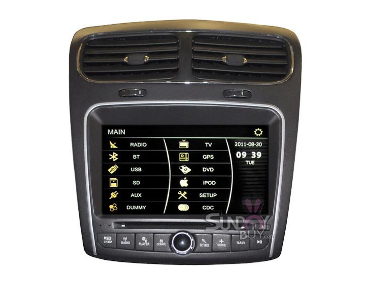 car dvd player gps navigation stereo for 2011 2012 dodge. Black Bedroom Furniture Sets. Home Design Ideas