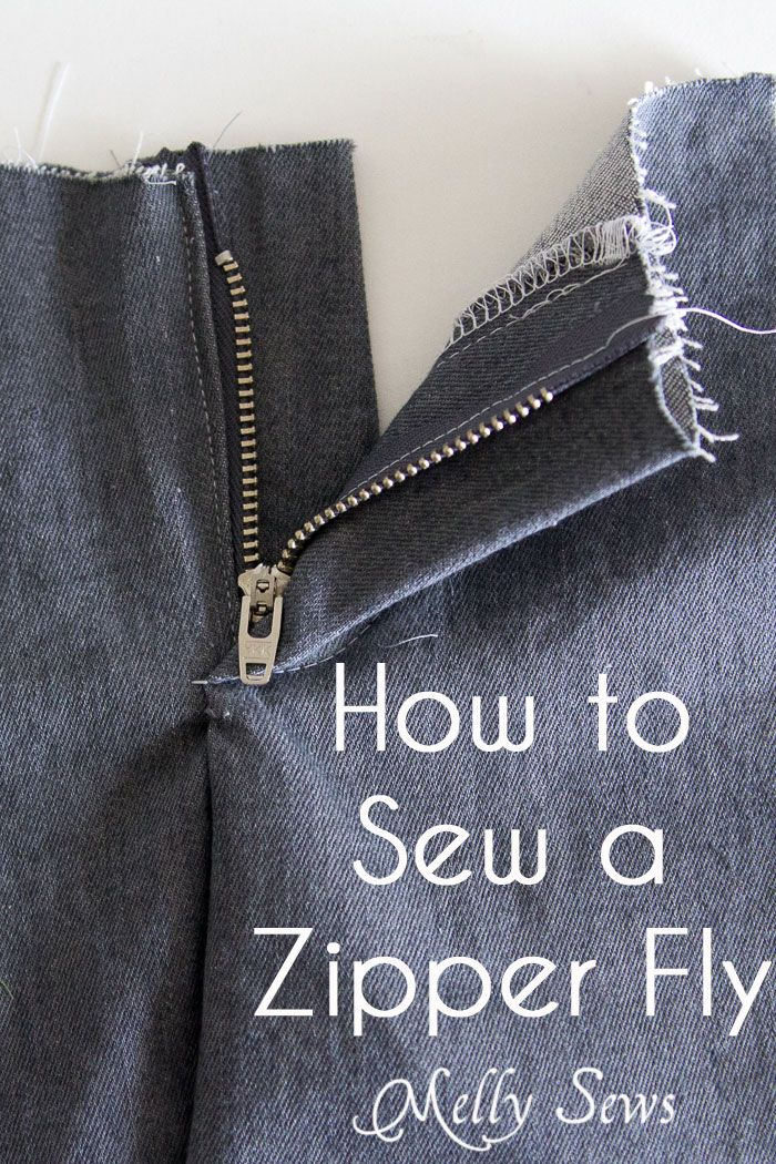 tony lama outlet How to sew a zipper   sewing a zipper fly is easy